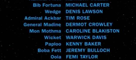 Jedi Credits